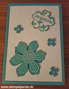 Stampin up blume