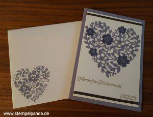 Stampin up Hochzeit Blüten der liebe