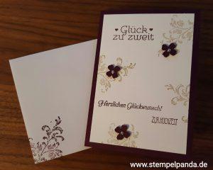 Stampin up Hochzeit