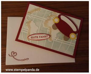 Stampin up welt auto