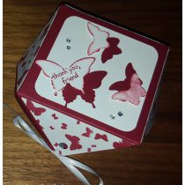 Stampin up diamantbox Papillon potpourri schmetterling