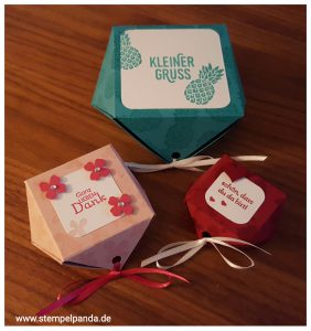 Stampin up diamantbox pop of paradise
