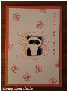 Stampin up su stempelpanda foxy friends