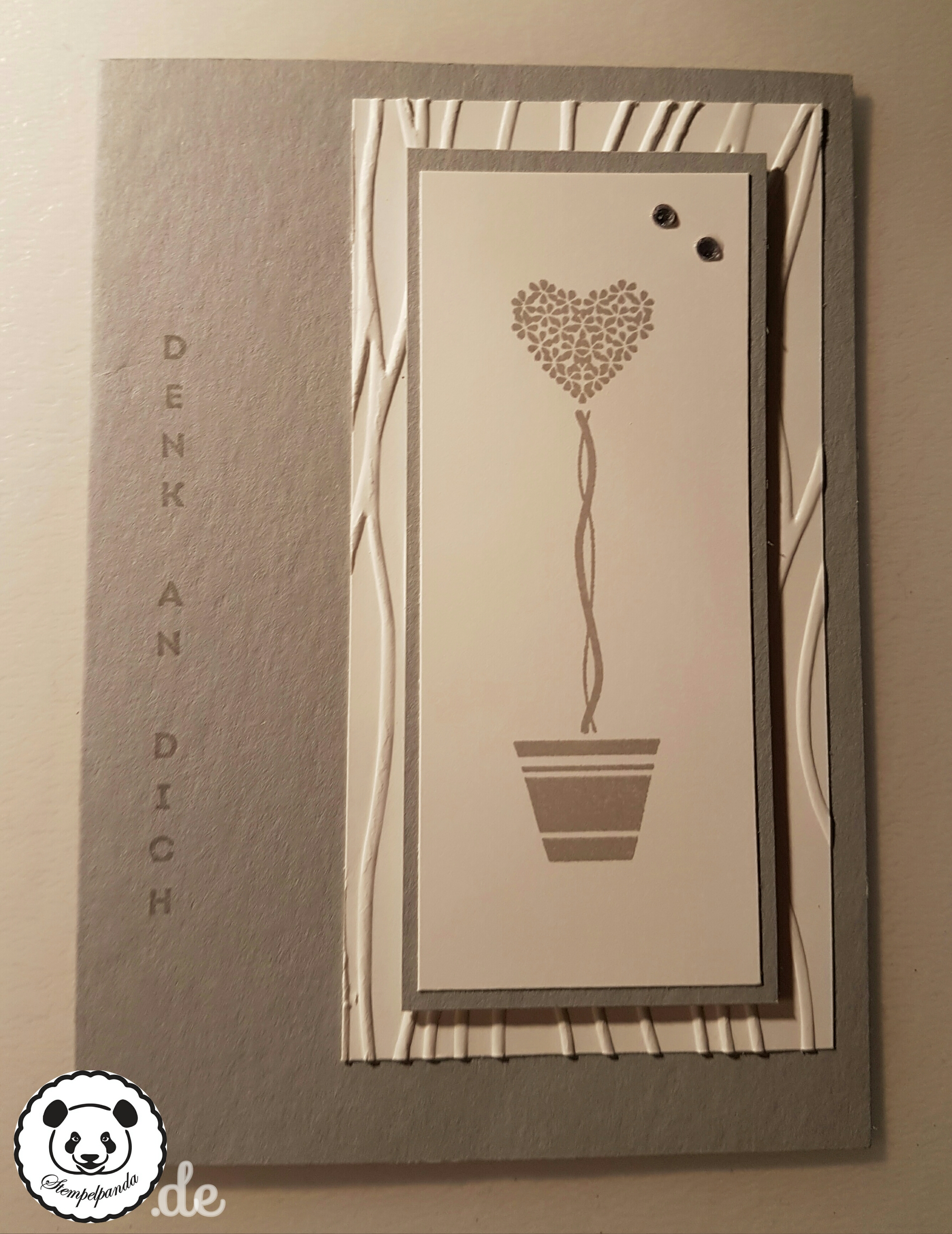 Stampin up, SU, Genial vertikal, Vertical Greetings, Prägeform Wellen
