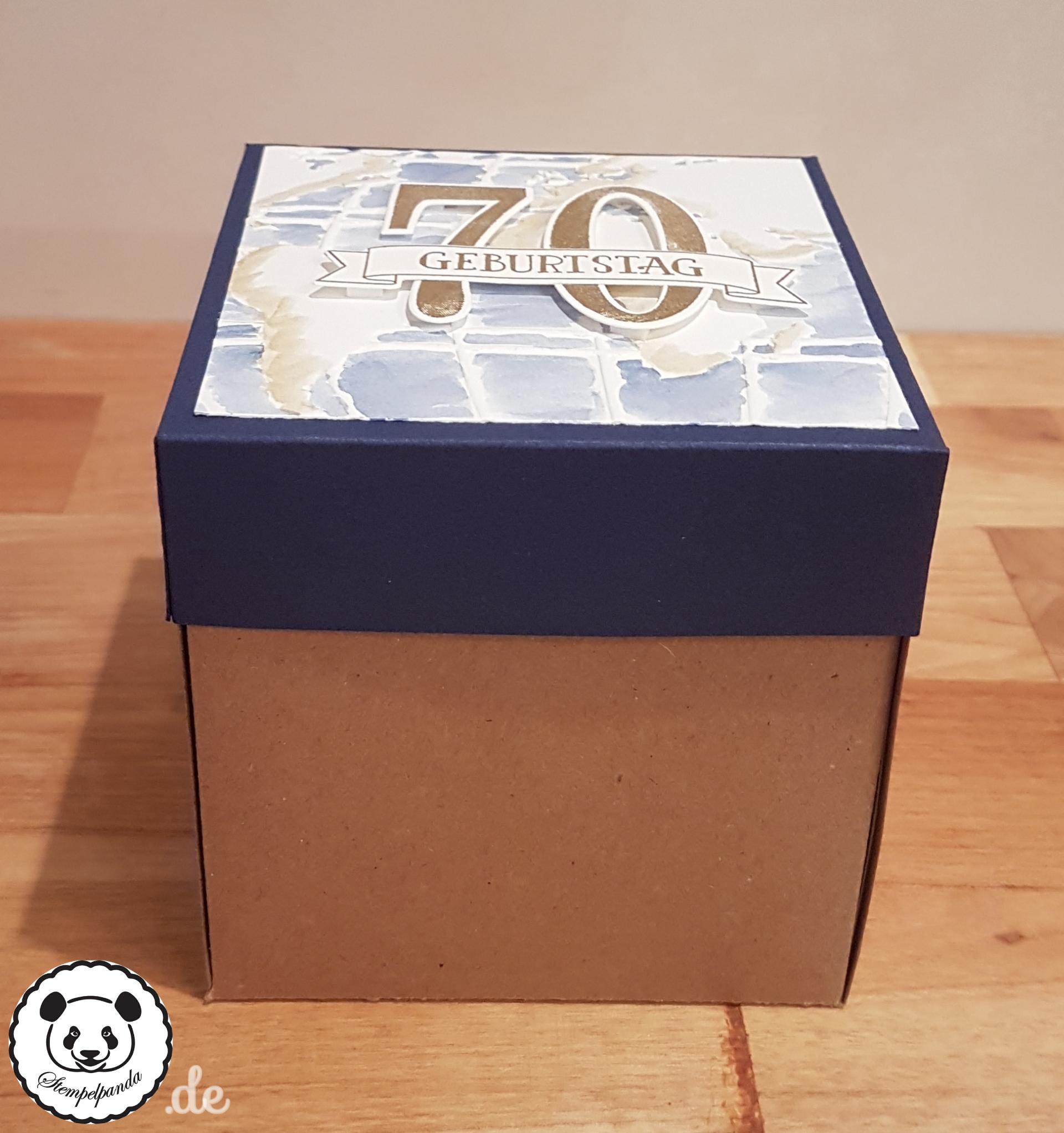 Meine erste Explosionsbox – Stempelpanda