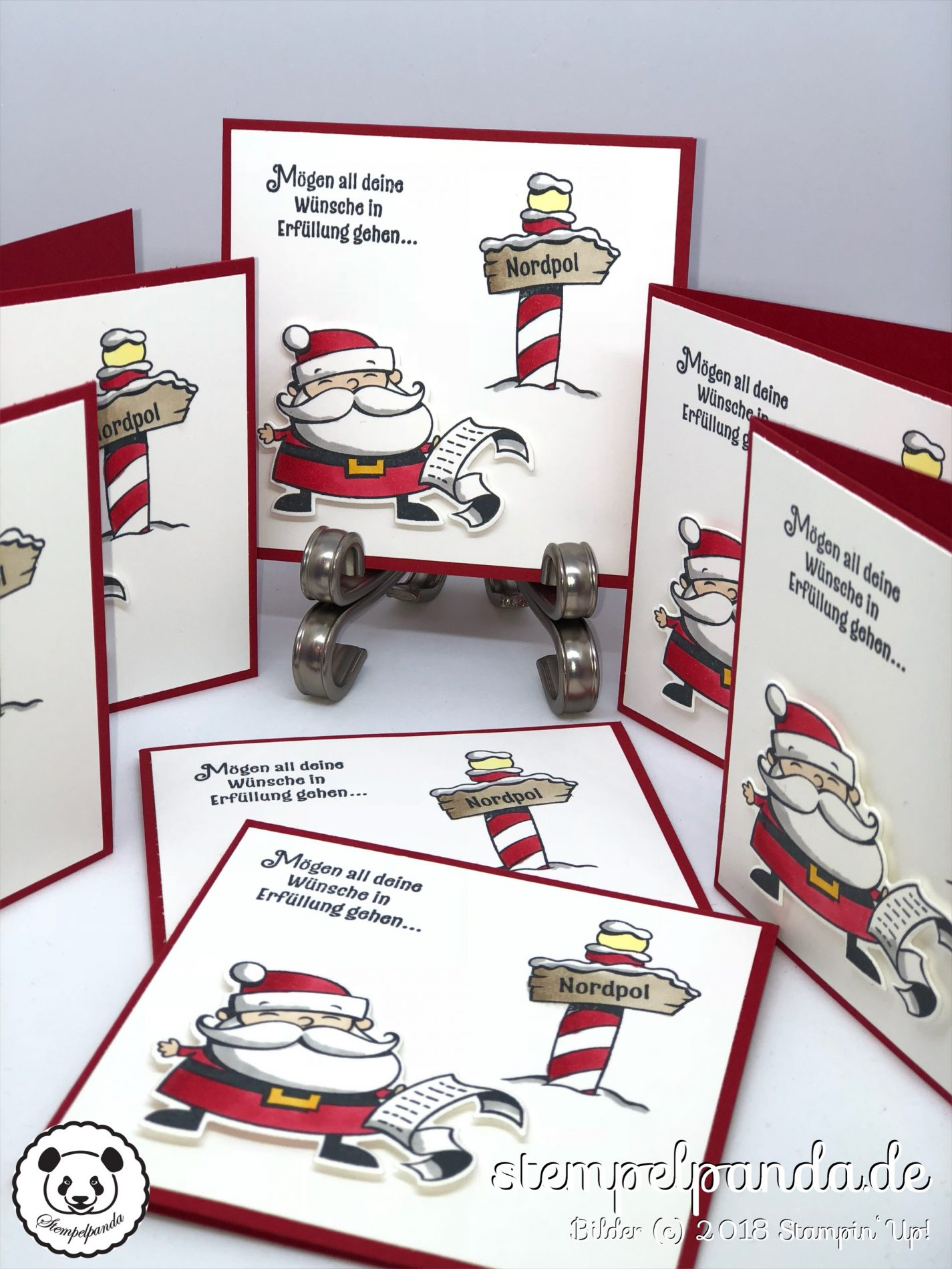 Stempelpanda, Stampin Up, SU, Weihnachtswerkstatt, Signs of Santa ...