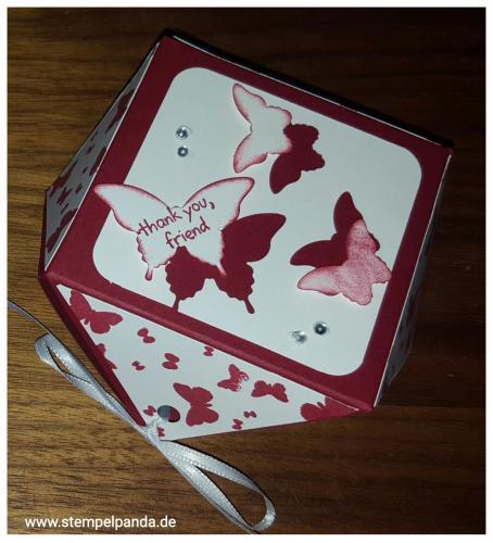 Stampin up diamantbox Papillon potpourri schmetterling