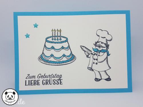 Stempelpanda, Stampin´ Up, SU, Geburtstagskreation, Birthday Delivery