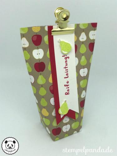 Stempelpanda, Stampin Up, SU, Gute Laune Korb, Fruit Basket, Tüte, Verpackung