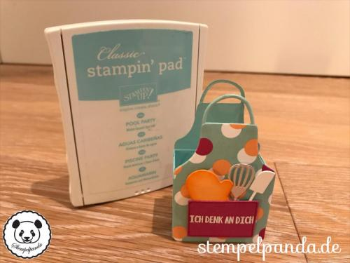 Stempelpanda, Stampin Up, SU, Kittelkreationen, Apron of Love, Perfekte Party, Picture Perfect Party