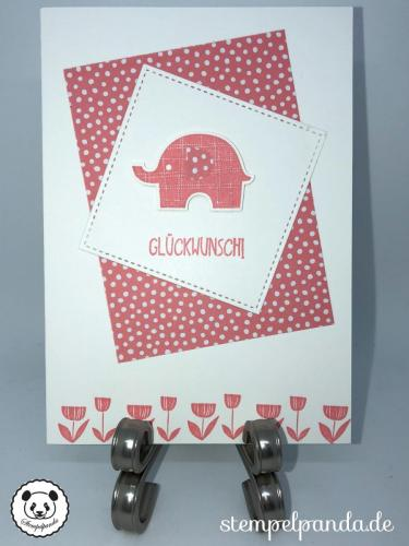 Stempelpanda, Stampin Up, SU, Elefantastisch, Little Elephant