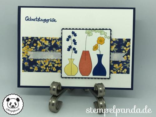 Stempelpanda, Stampin Up, SU, Wunderbare Vasen, Varied Vases