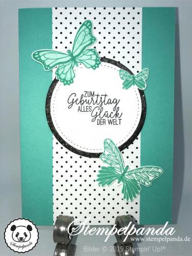 Stempelpanda, Stampin Up, SU, Blog Hop Stempelreise, Blogparade, SAB, Schmetterlingsglück, Butterfly Gala