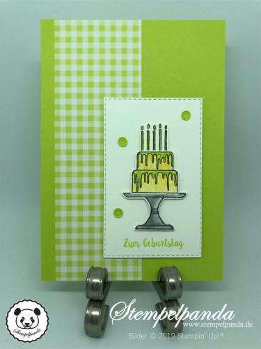 Stempelpanda, Stampin Up, SU, Karten, Kuchen ist die Antwort, Piece of Cake