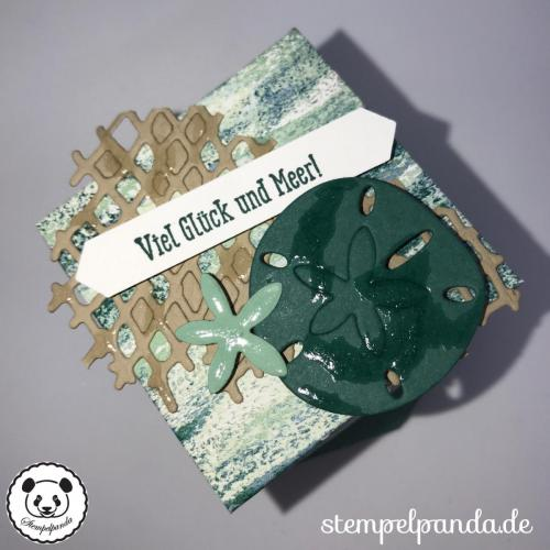 Stempelpanda, Stampin Up, SU, BlogHop, Glück und Meer, Sea of Textures