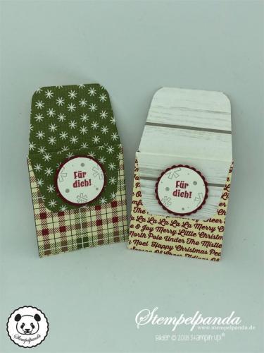 Stempelpanda, Stampin Up, SU, Sour Cream Box, Anleitung, Verpackung, Schokolade, Schokoriegel, Youtube, Video, Stanz- und Falzbrett für Geschenktüten