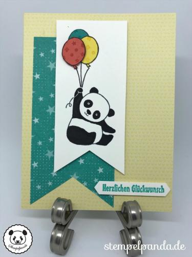 Stempelpanda, Stampin Up, SU, Party Panda, Tutti Frutti, Einfach spritzig, Sale a Bration