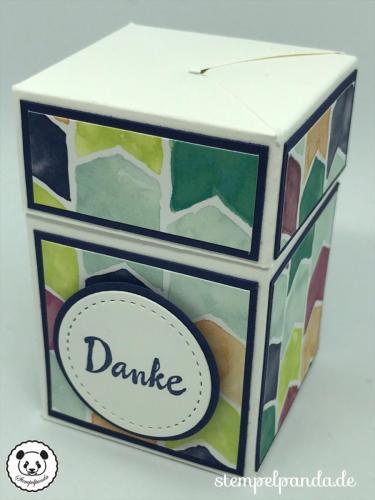 Stempelpanda, Stampin Up, SU, Impossible gift box, Anleitung